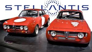Alfa Romeo Stellantis Logo Zukunft