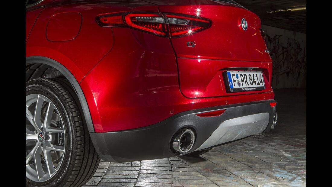 Alfa Romeo Stelvio 2.0 Turbo Q4 First Edition, Heck