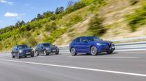 Alfa Romeo Stelvio, Audi Q5, BMW X3