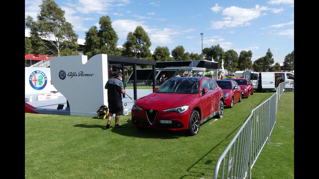 Alfa Romeo Stelvio - GP Australien 2018 - Melbourne - Albert Park - Mittwoch - 21.3.2018