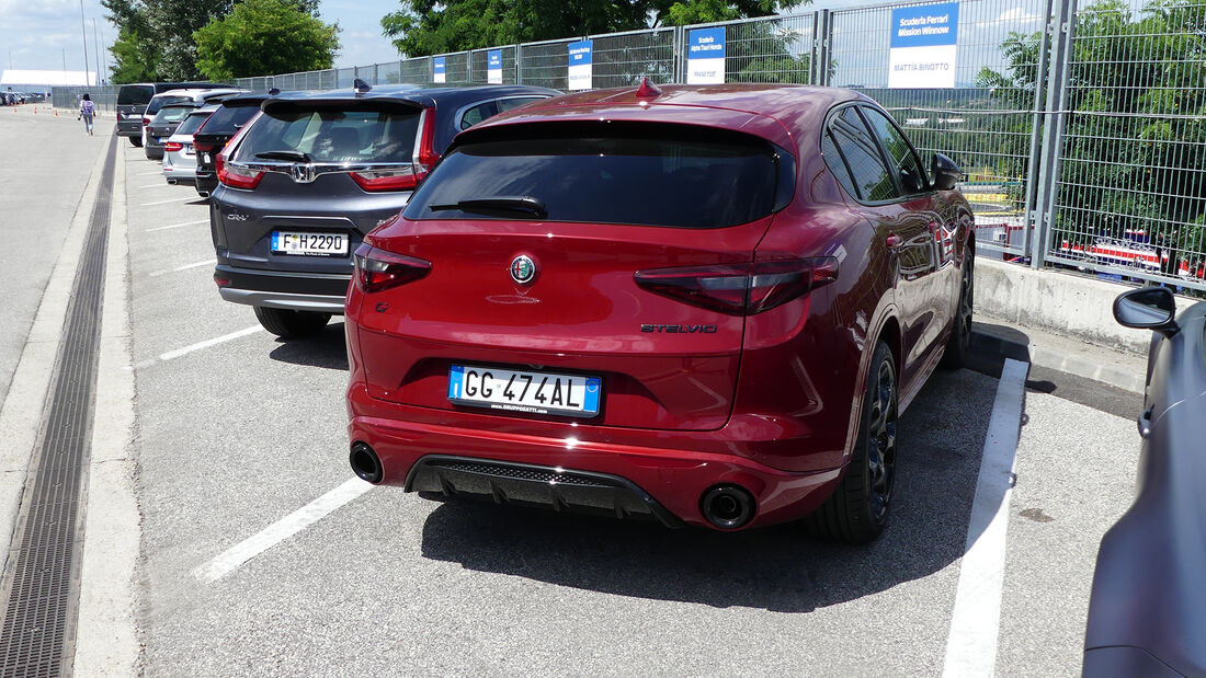 Alfa Romeo Stelvio - Mattia Binotto - Formel 1 - GP Ungarn 2021
