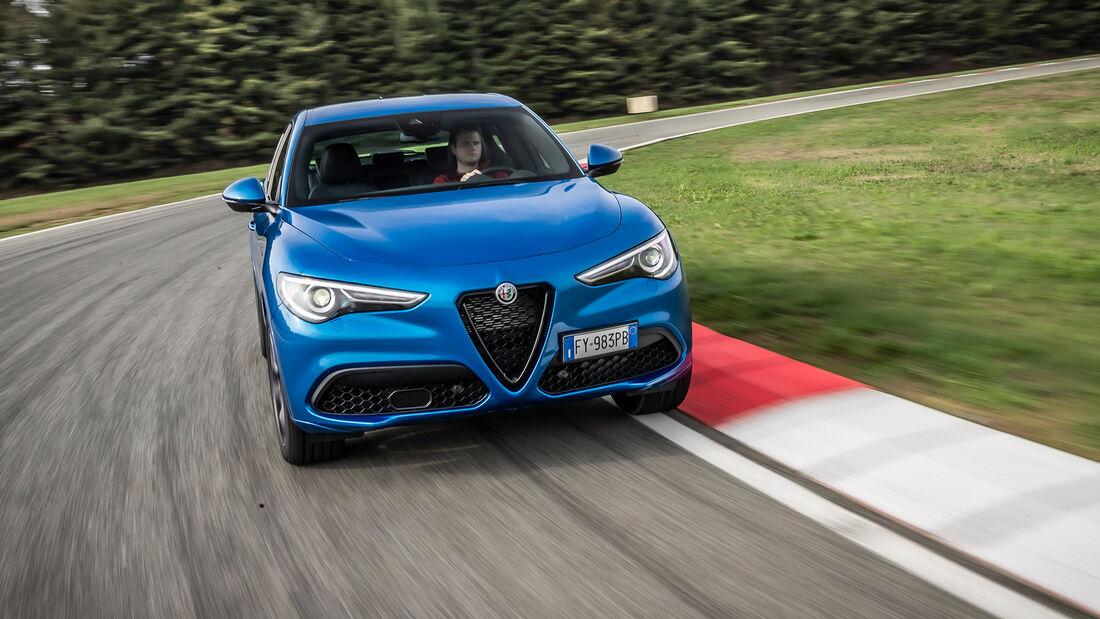 Alfa Romeo Stelvio - Modelljahr 2020 - 2,0-Liter-Benziner - SUV