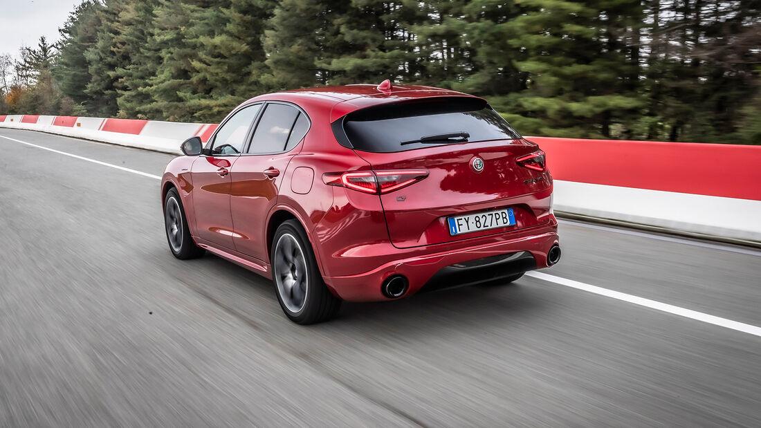 Alfa Romeo Stelvio - Modelljahr 2020 - 2,2-Liter-Diesel - SUV