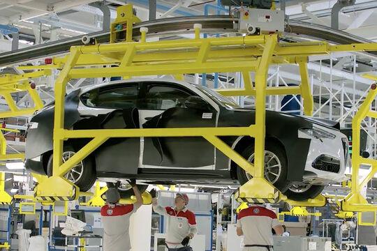 Alfa Romeo Stelvio Produktion