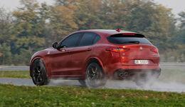 Alfa Romeo Stelvio QV Fahrbericht (2018)