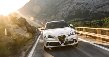 Alfa Romeo Stelvio Quadrofolglio, Exterieur