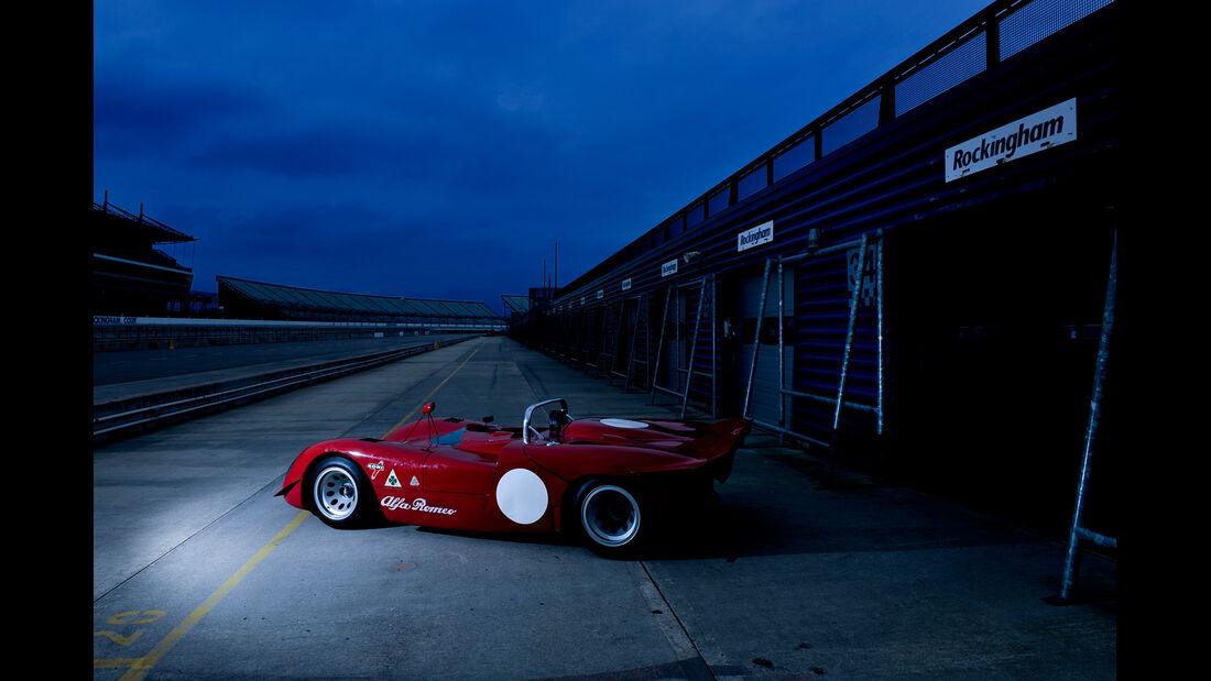 Alfa Romeo T33/3, Boxengasse