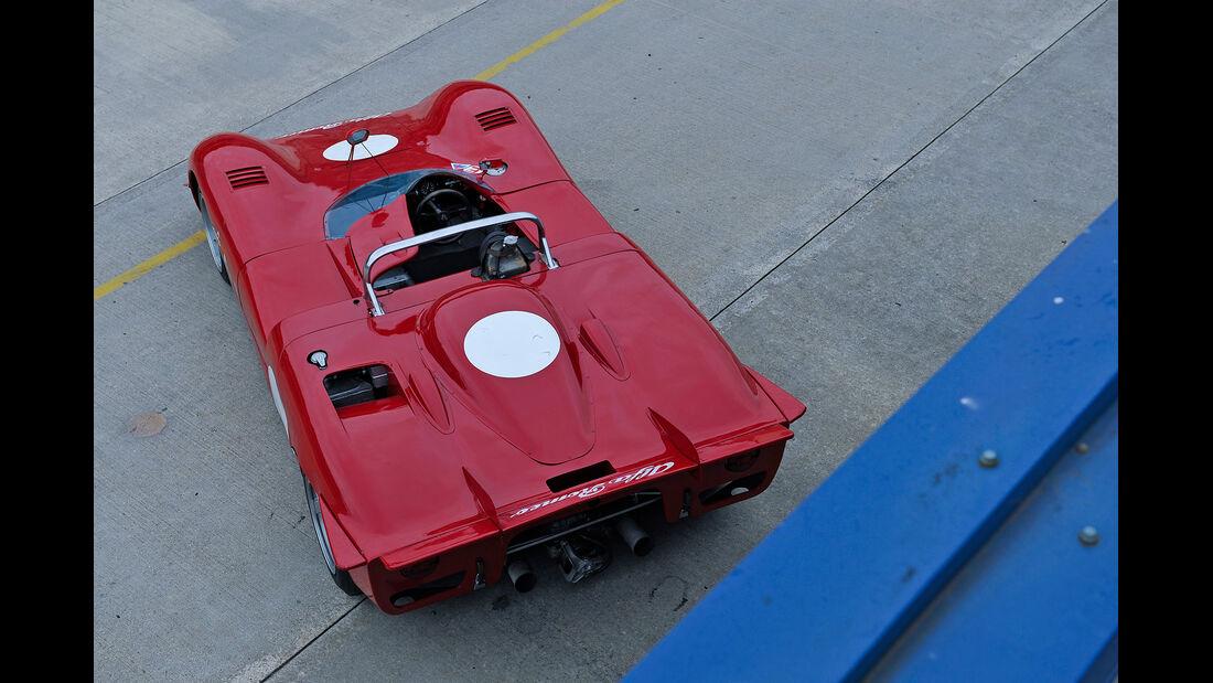 Alfa Romeo T33/3, Draufsicht