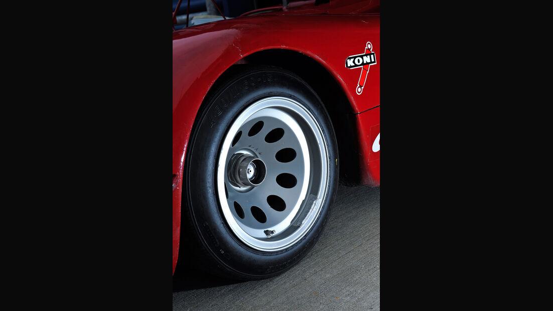 Alfa Romeo T33/3, Felge, Rad