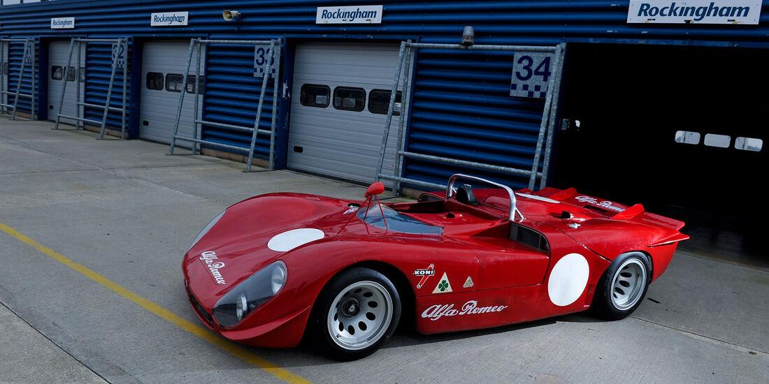 Alfa Romeo T33/3, Seitenansicht