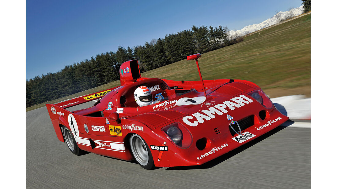 Alfa Romeo T33/TT/12, Frontansicht