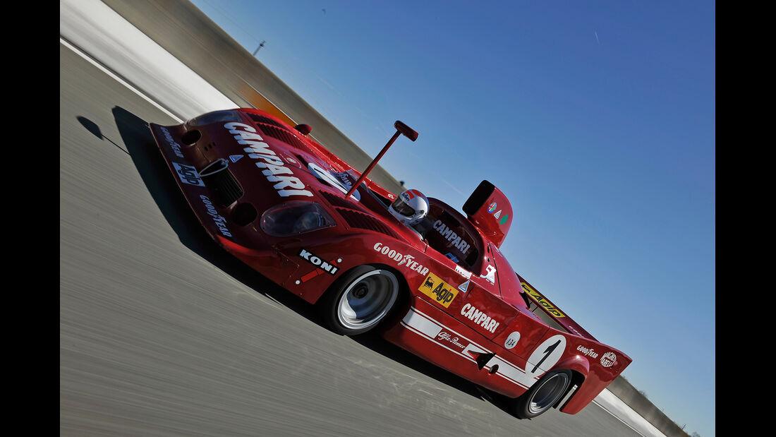 Alfa Romeo T33/TT/12, Seitenansicht