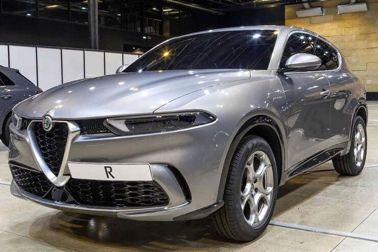 Alfa Romeo Tonale (2020): Erste Bilder vom Serien-SUV ...