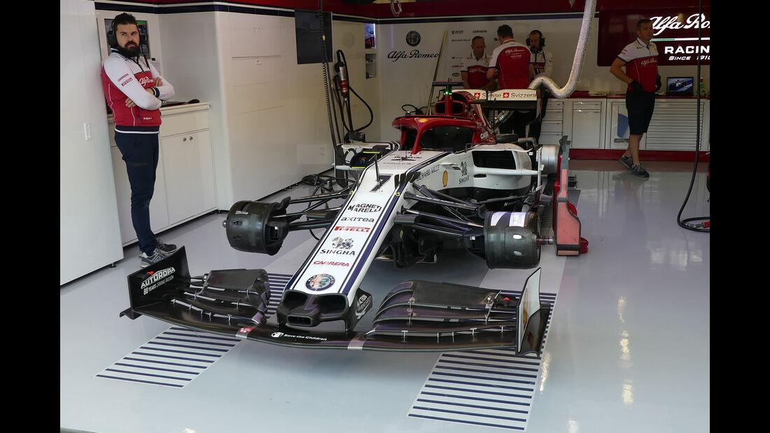 Alfa-Sauber - GP England - Silverstone - Freitag - 12.7.2019