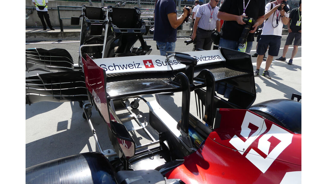 Alfa-Sauber - GP Ungarn - Budapest - Formel 1 - Donnerstag - 1.08.2019