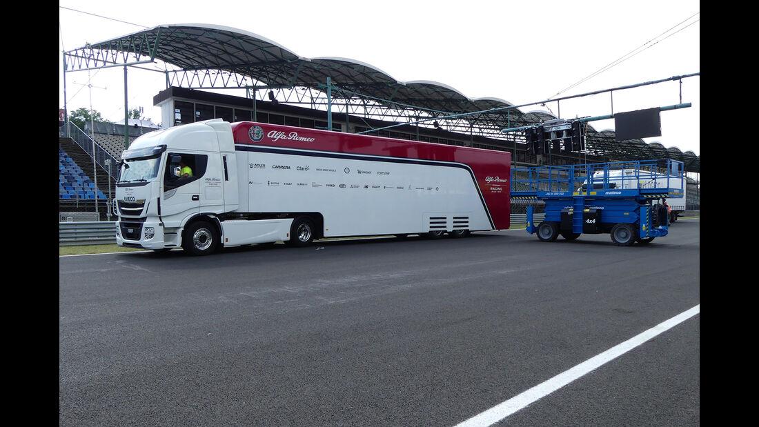 Alfa-Sauber - GP Ungarn - Budapest - Hungaroring - Mittwoch - 31.07.2019