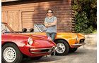 Alfa Spider 1750 Veloce, Fiat 124 Sport Spider, Michael Schröder