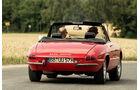 Alfa Spider 1750 Veloce, Heckansicht