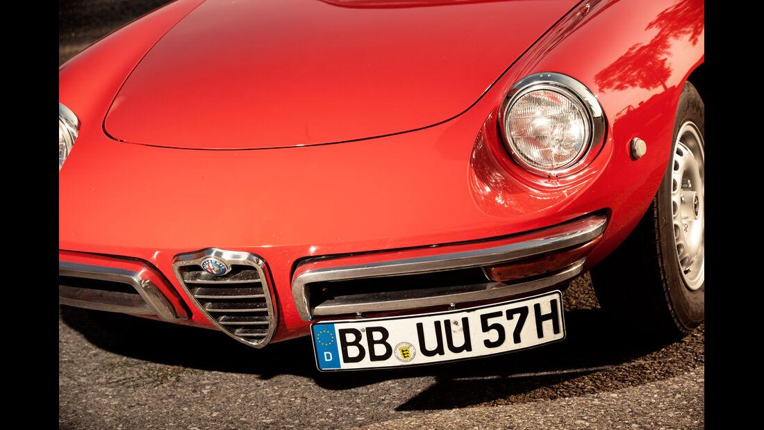 Alfa Spider 1750 Veloce, Motorhaube