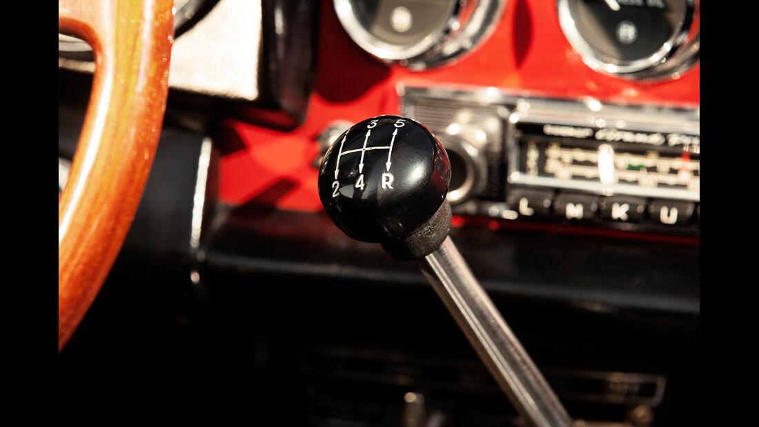 Alfa Spider 1750 Veloce, Schalthebel