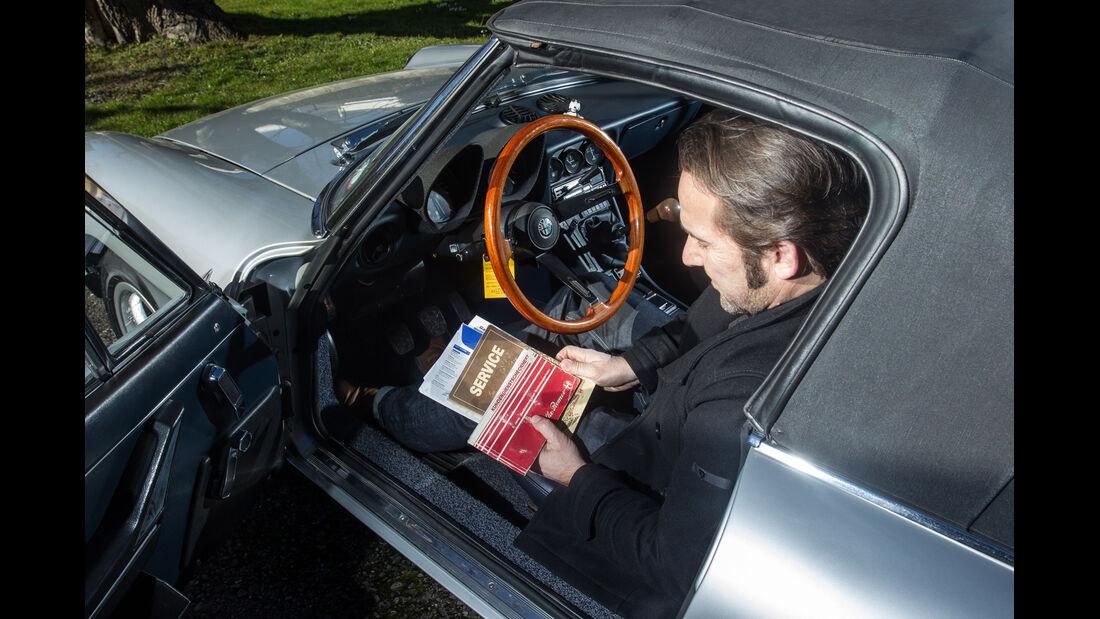 Alfa Spider 2.0., Cockpit