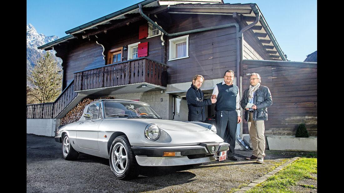 Alfa Spider 2.0., Frontansicht