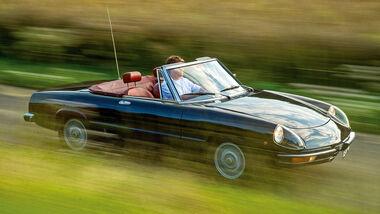 Alfa Spider 2000 Fastback, Frontansicht