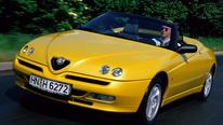 Alfa Spider (916), Frontansicht