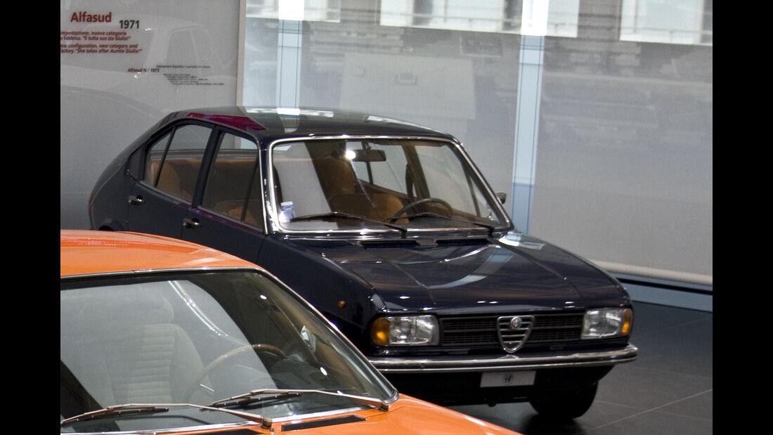 Alfasud im Alfa Romeo Museum Arese