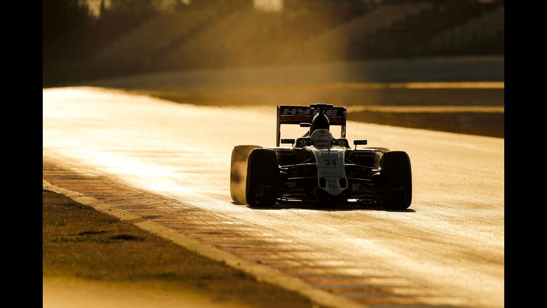 Alfonso Celis - Force India - Barcelona - F1-Test - 2016