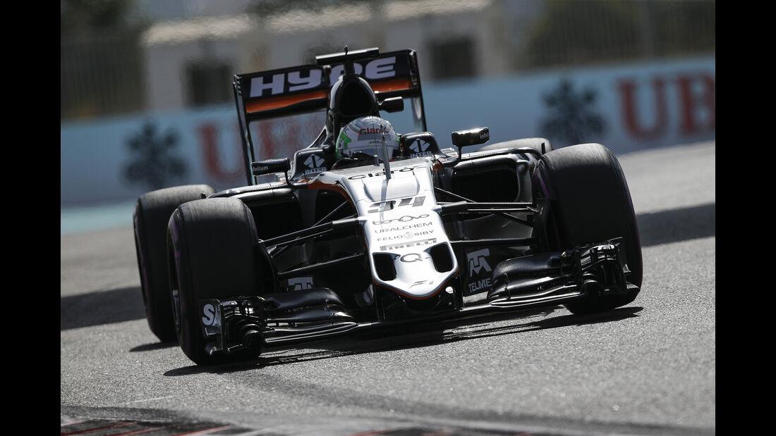 Alfonso Celis - Force India - Formel 1 - GP Abu Dhabi - 25. November 2016