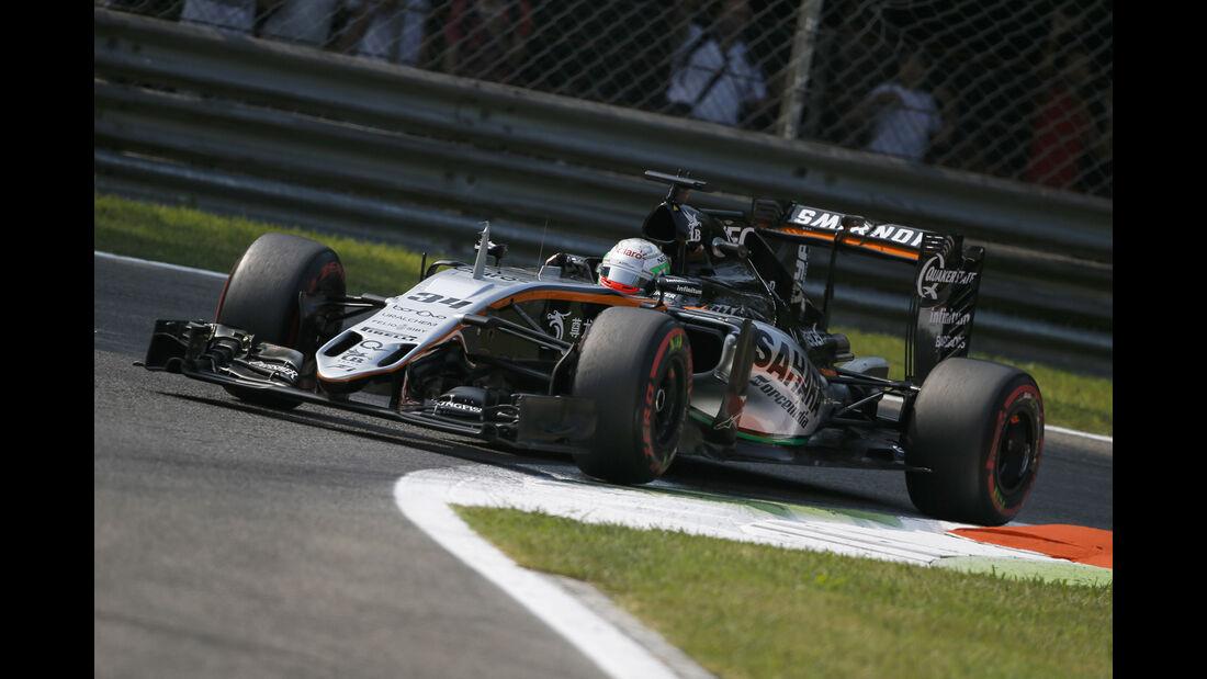Alfonso Celis - Force India - Formel 1 - GP Italien - Monza - 2. September 2016