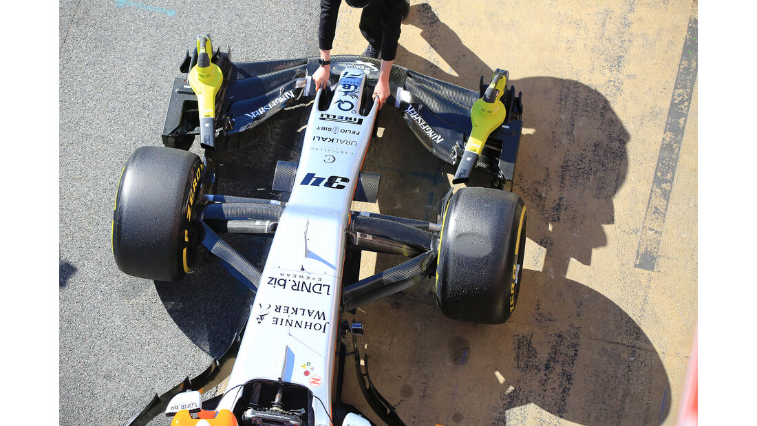 Alfonso Celis -Force India - Formel 1 - Test - Barcelona - 1. März 2017