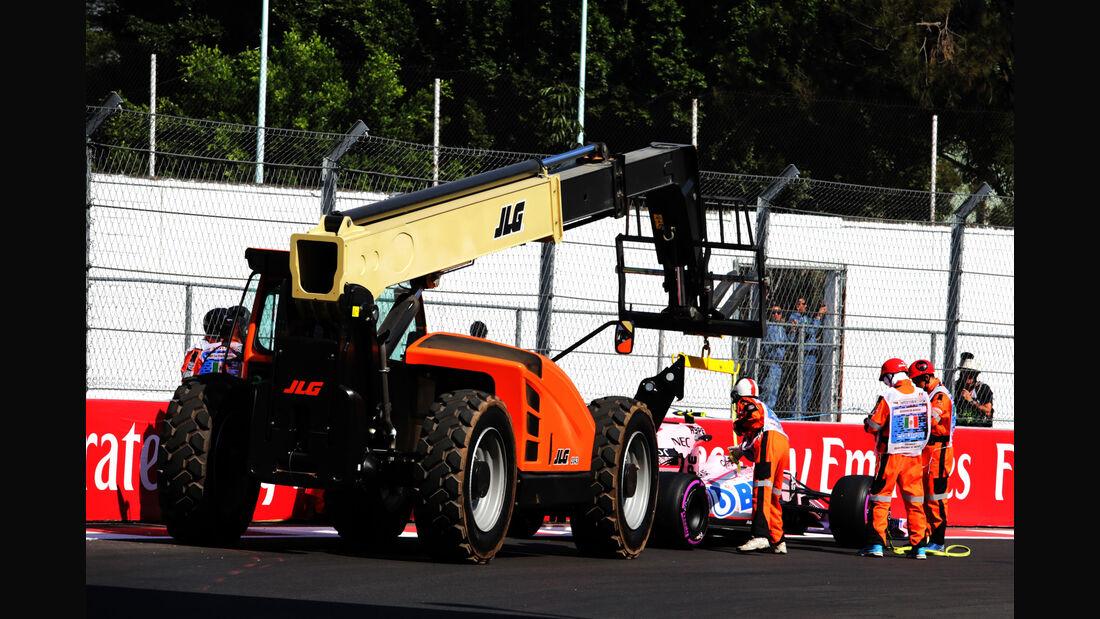 Alfonso Celis - Force India - GP Mexiko - Formel 1 - Freitag - 27.10.2017