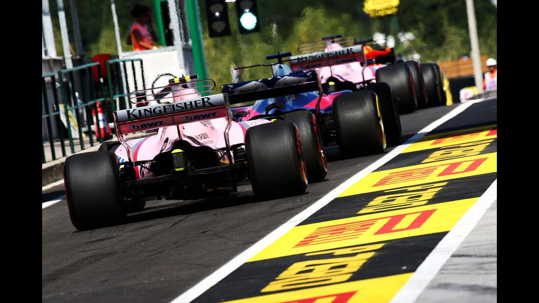 Alfonso Celis - Force India - GP Ungarn - Budapest - Formel 1 - 28.7.2017