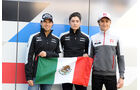 Alfonso Celis jr. - Esteban Gutierrez - Sergio Perez - Formel 1 - GP Russland - 28. April 2016