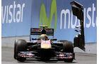 Alguersuari Chandhok-Flügel GP Spanien