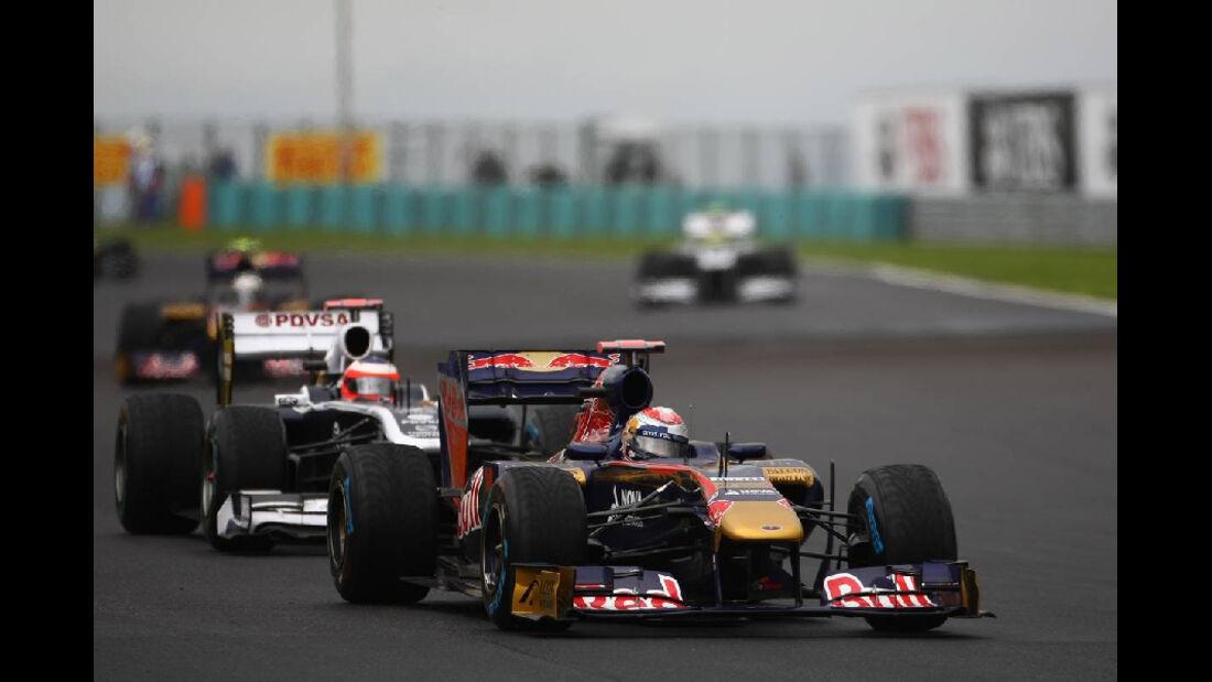 Alguersuari - GP Ungarn - Formel 1 - 31.7.2011 - Highlights
