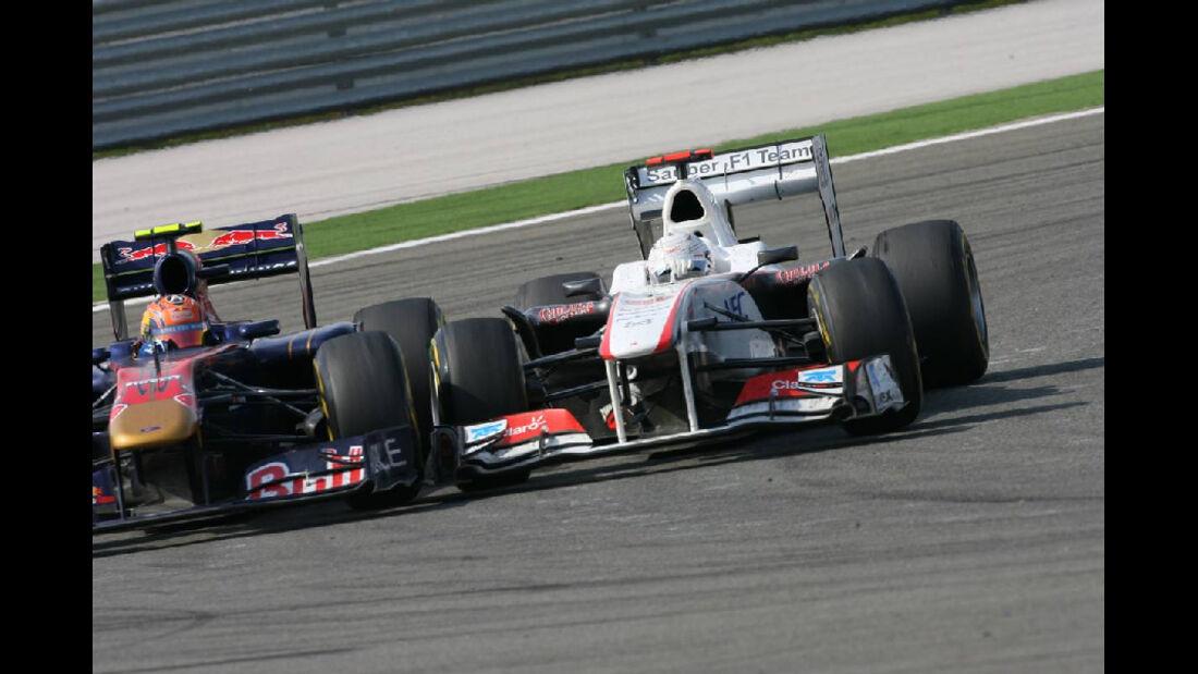 Alguersuari Kobayashi GP Türkei 2011