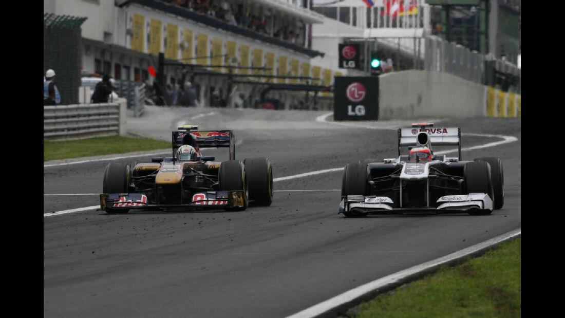 Alguersuari - Noten - GP Ungarn - Formel 1 - 31.7.2011