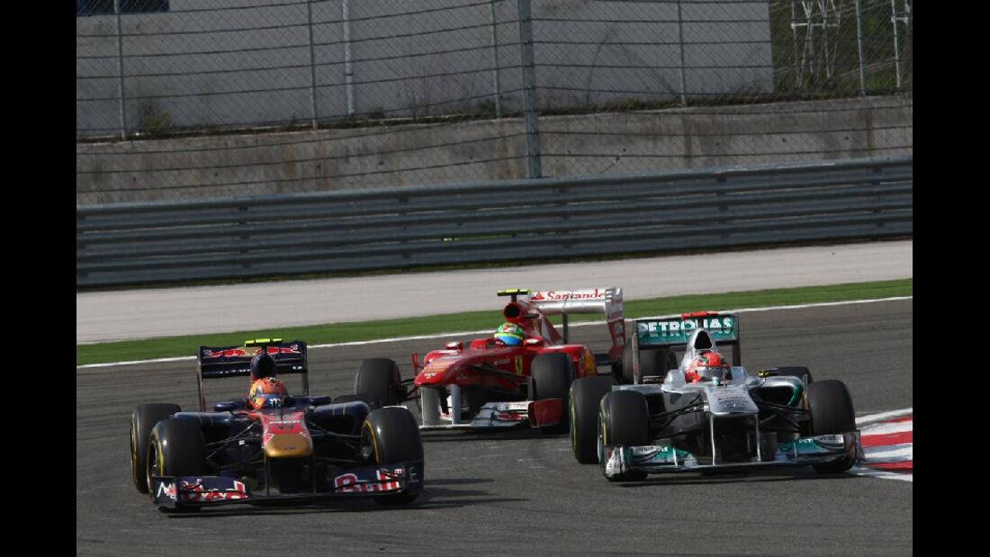 Alguersuari Schumacher Massa GP Türkei 2011