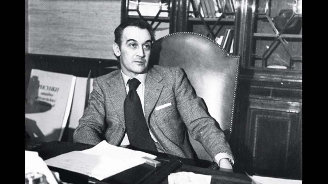 Aljeandro de Tomaso, Portrait