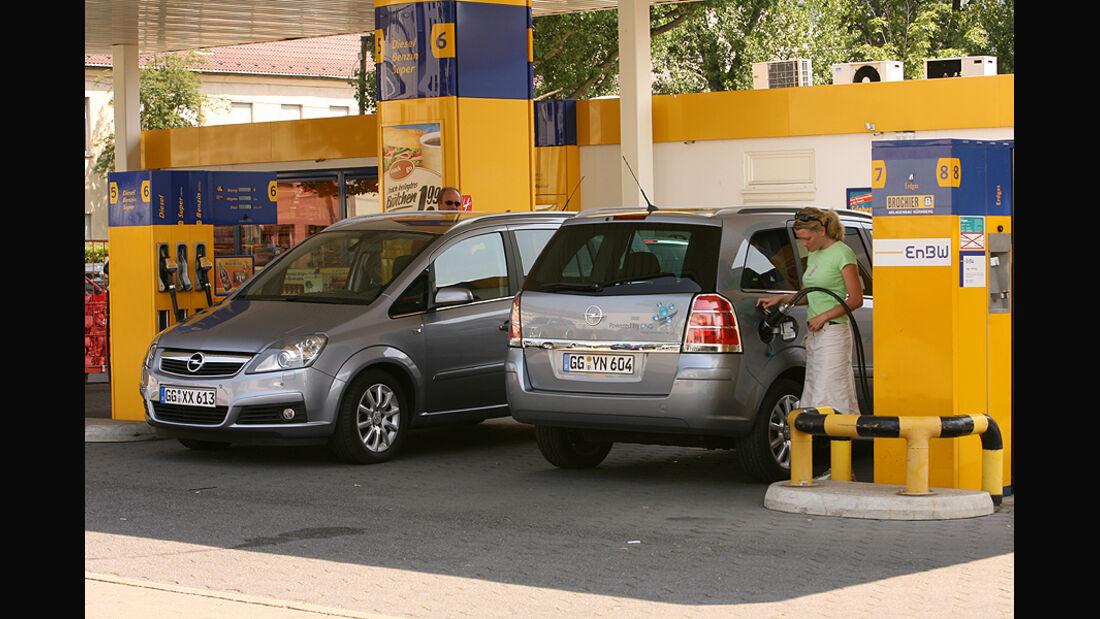 Alle Fahrzeuge mit Gasantrieb