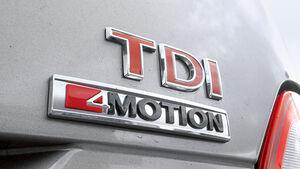 Allradantrieb nur in Verbindung mit dem 204-PS-Diesel
