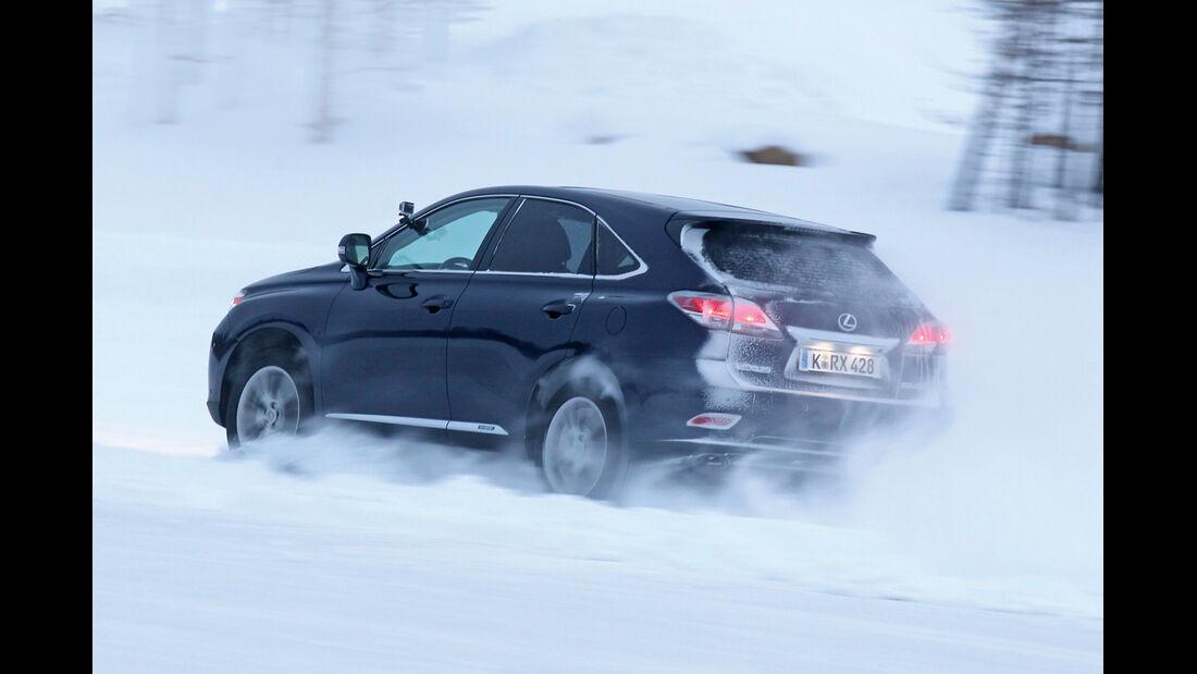 Allradtest, Lexus RX 450h, Heckansicht