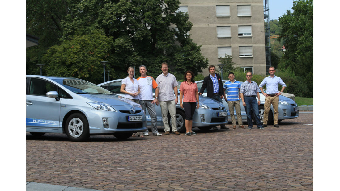 Alltragstest, Toyota Prius Plugn-in Hybrid, Teilnehmer