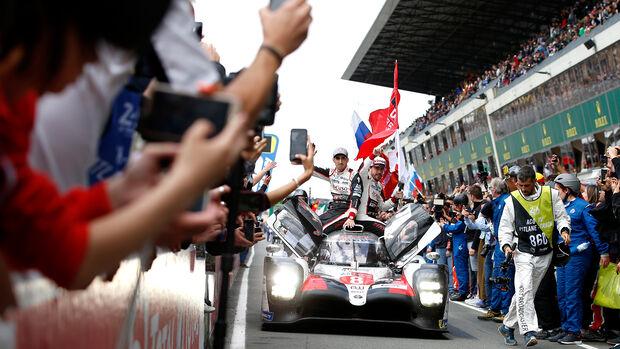 Alonso - Buemi - Nakajima - Toyota - 24h-Rennen Le Mans 2019