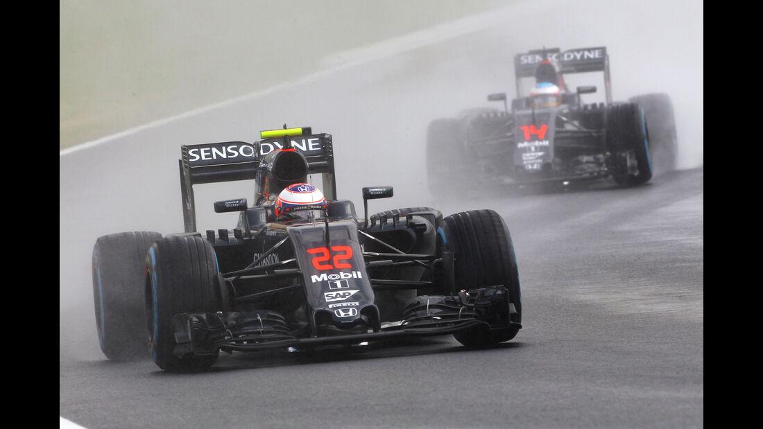 Alonso & Button - Formel 1 - GP Ungarn 2016