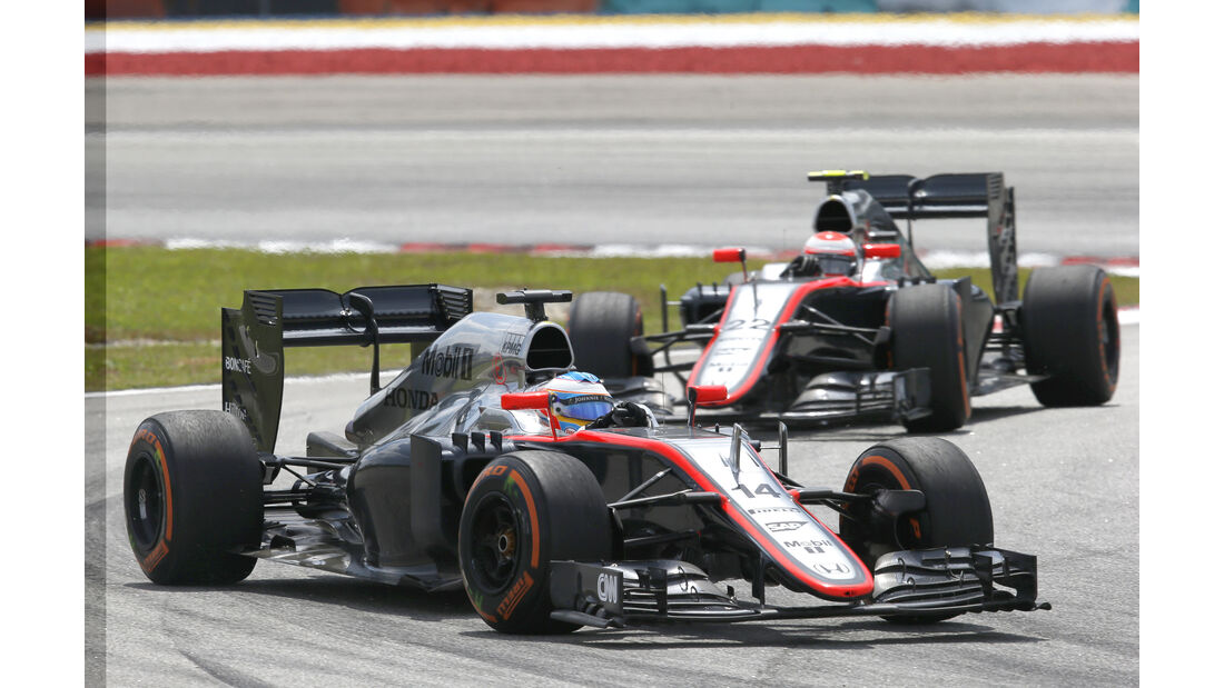 Alonso & Button - McLaren - GP Malaysia 2015