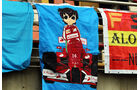 Alonso-Fans - Formel 1 - GP China - Shanghai - 19. April 2014